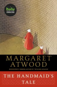 Cover image of the book, The Handmaid's Tale by Margaret Atwood