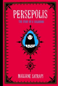 Cover image of the book, Persepolis
